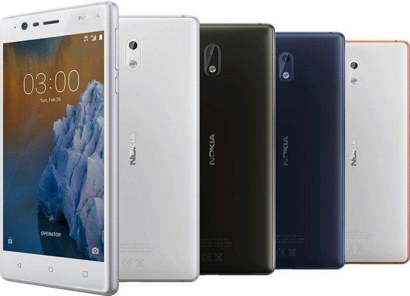 Российские цены Nokia моделей 3, 5 и 6 Другие устройства  - nokia_3_announced_1