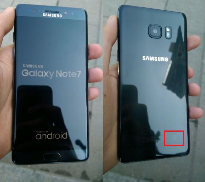 Восстановленный Samsung Galaxy Note 7 с клеймом на корпусе Samsung  - samsung-galaxy-note-7-refurbished