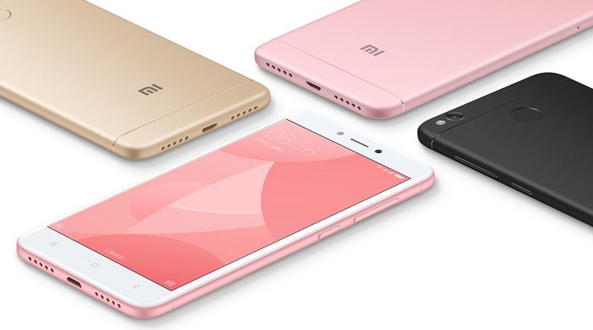 Xiaomi Redmi 4X отныне доступен с 4 ГБ ОЗУ и 64 ГБ памяти Xiaomi - xiaomi-redmi-4x-64gb-1
