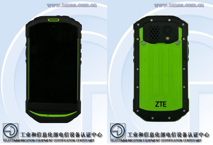 В TENAA засветился ультрабюджетный ZTE с защищенным корпусом Другие устройства  - zte_c501