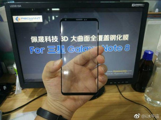 Новая утечка информации о Samsung Galaxy Note 8 Samsung - 99fcbe4b050683867d770ff14f785c4a