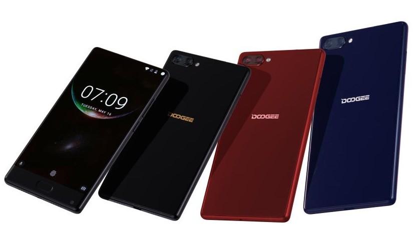 Безграничный Doogee Mix выйдет в новых цветах Другие устройства  - doogee-mix-new-colors-red-silver-1