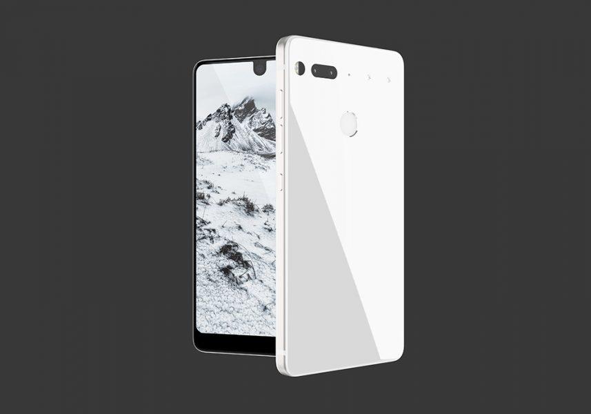 Essential PH-1 поступит в продажу летом Другие устройства  - essential-ph-1-white