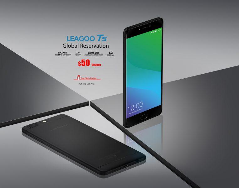 Характеристики Leagoo T5, флагмана на 2017 год Другие устройства  - leagoo_t5