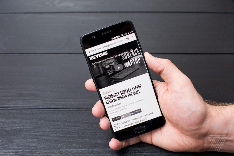 Фото и видео OnePlus 5. Сравнение двух расцветок Другие устройства - oneplus_5_live_18