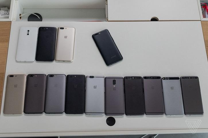 OnePlus готовит золотистую версию OnePlus 5 Другие устройства  - oneplus_5_prototypes