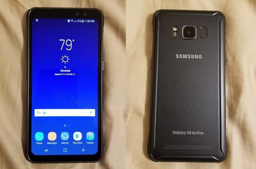 Живое видео защищенного Samsung Galaxy S8 Active Samsung  - galaxy-s8-active-leak