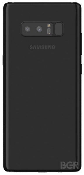Рендеры финального стилизованного дизайна Samsung Galaxy Note 8 Samsung  - galaxy_note_8_renders_02