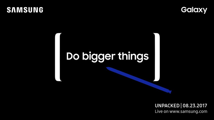 Официальная, точная дата выхода Samsung Galaxy Note 8 Samsung  - galaxy_note_8_unpack