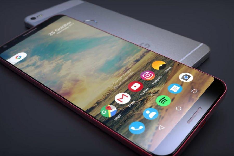 Google Pixel XL 2 – фото самого перспективного гаджета на Android 8.0 Другие устройства  - google-pixel-xl-2-case-0