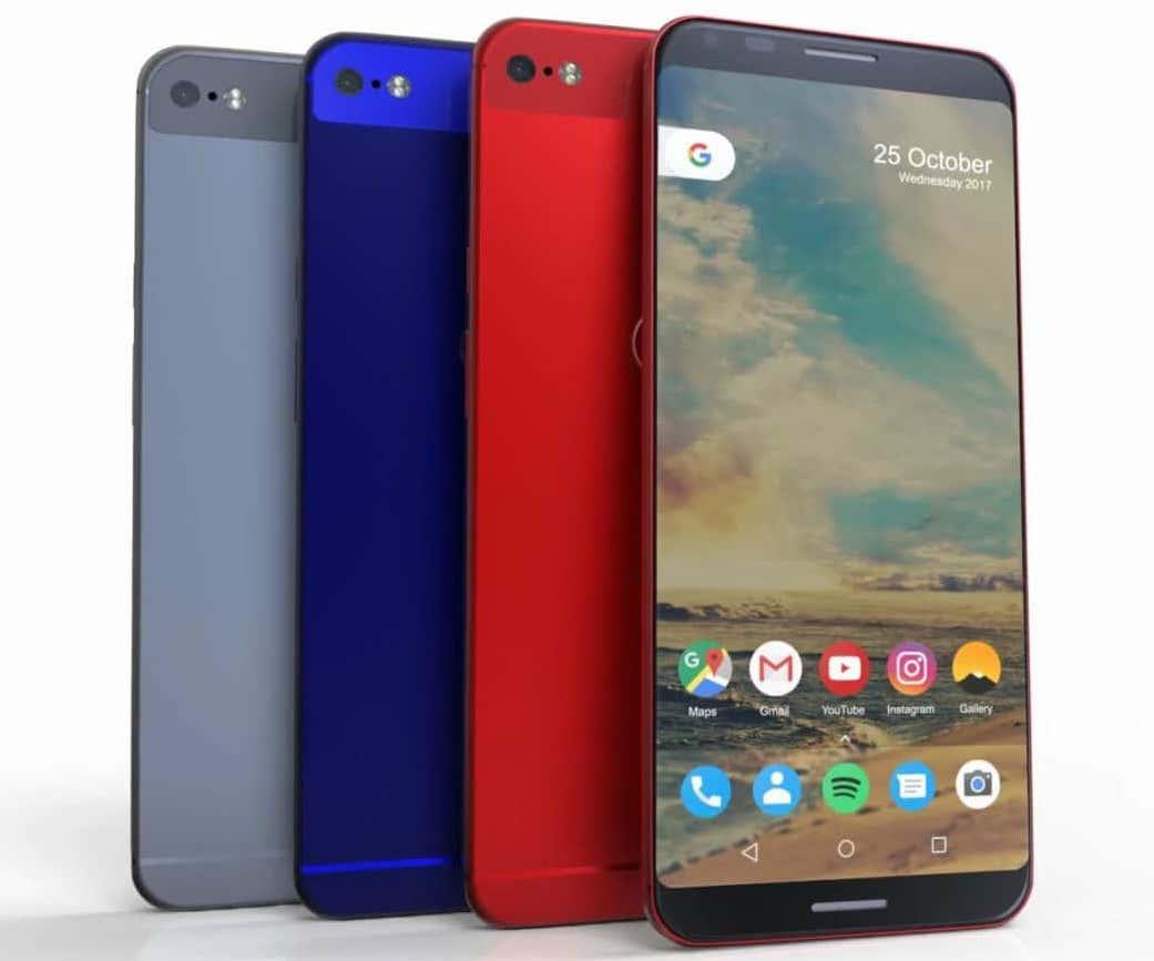 Google Pixel XL 2 – фото самого перспективного гаджета на Android 8.0 Другие устройства  - google-pixel-xl-2-case-66