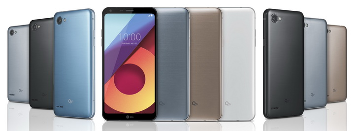 Анонс LG Q6, Q6+ и Q6а – красивые бюджетные гаджеты на Snapdragon 435 LG  - lg_q6_press_04