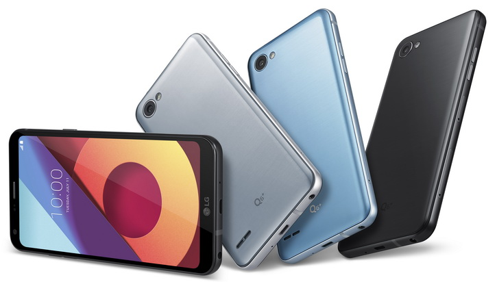Анонс LG Q6, Q6+ и Q6а – красивые бюджетные гаджеты на Snapdragon 435 LG  - lg_q6_press_05