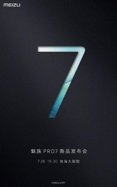 Интригующая официальная дата анонса долгожданного Meizu Pro 7 Meizu  - meizu_pro_7_date