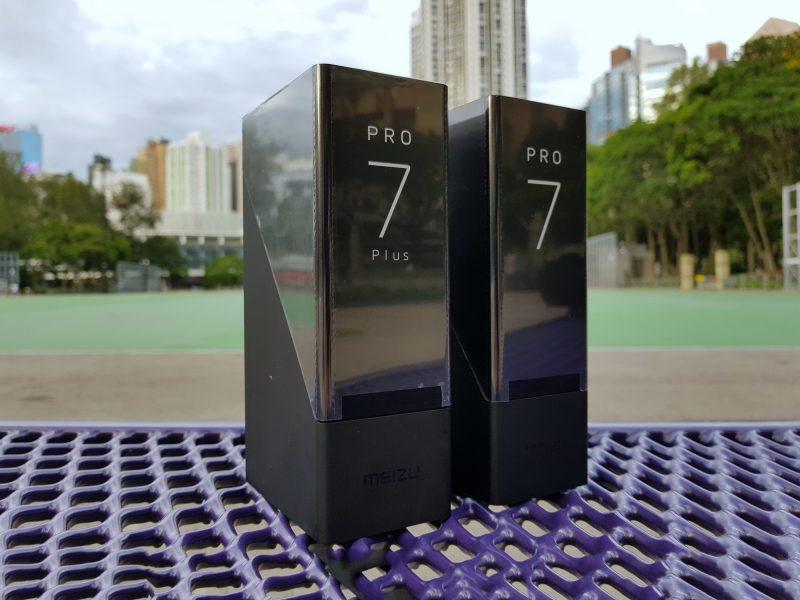 Живая распаковка потрясающего Meizu Pro 7 и Pro 7 Plus. Фото Meizu  - meizu_pro_7_plus_live_01