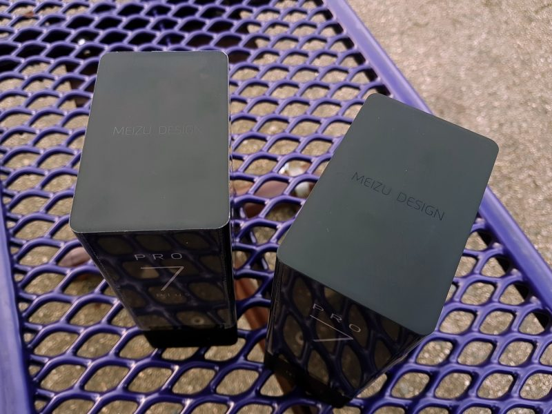 Живая распаковка потрясающего Meizu Pro 7 и Pro 7 Plus. Фото Meizu  - meizu_pro_7_plus_live_02