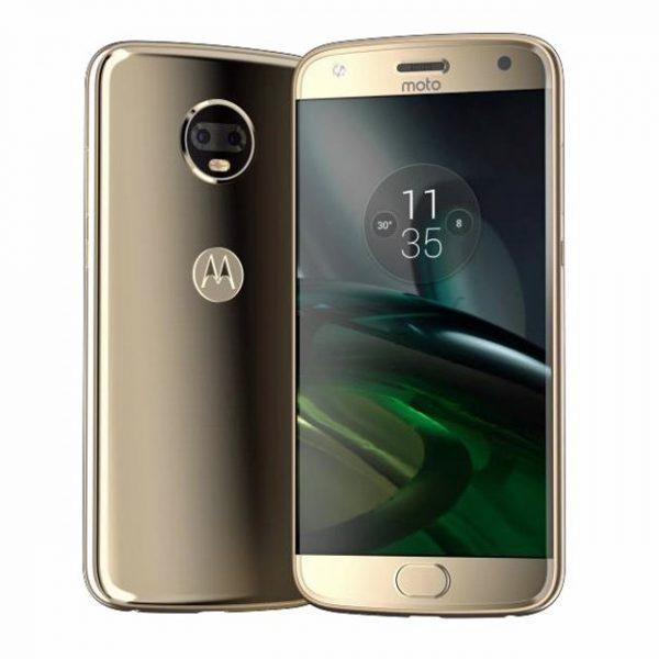 Восхитительный золотистый Motorola Moto X4 на рендере Другие устройства  - moto_x4_render