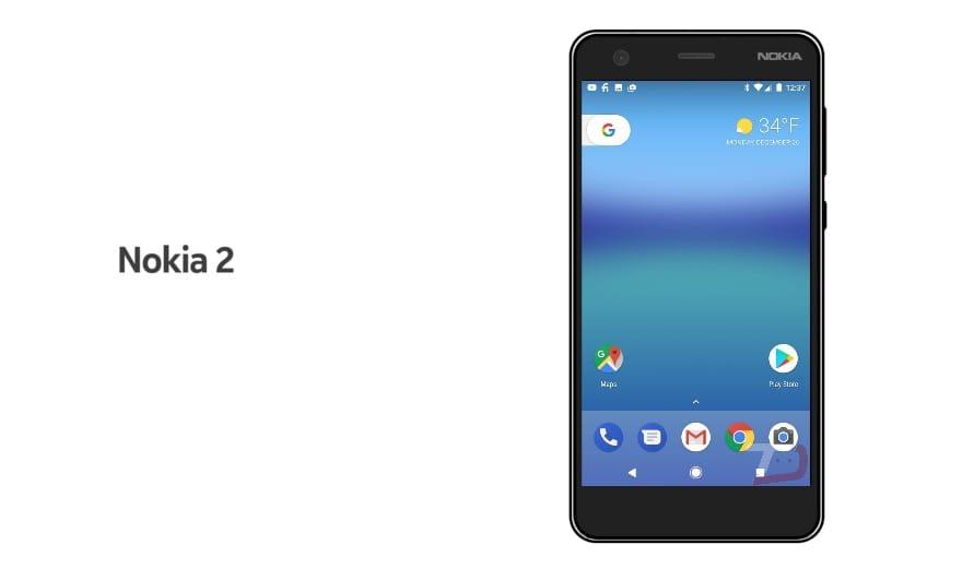 Самый дешевый смартфон Nokia 2 впервые на фото Другие устройства  - nokia-2-1