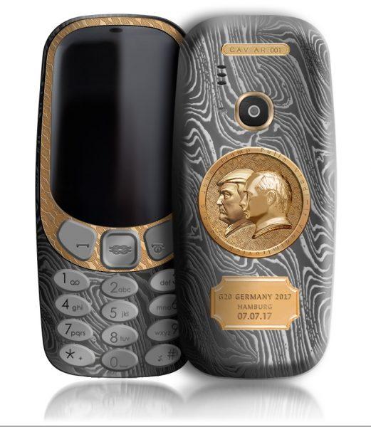 Элитные «путинофоны» Caviar Nokia 3310 за 149 000 рублей Другие устройства  - nokia_3310_caviar_05