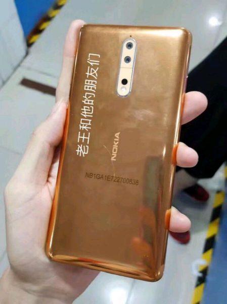 Живые фото Nokia 8 в необычном медном цвете Другие устройства  - nokia_8_copper_wild_01