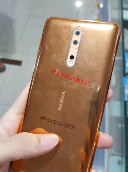 Живые фото Nokia 8 в необычном медном цвете Другие устройства  - nokia_8_copper_wild_04