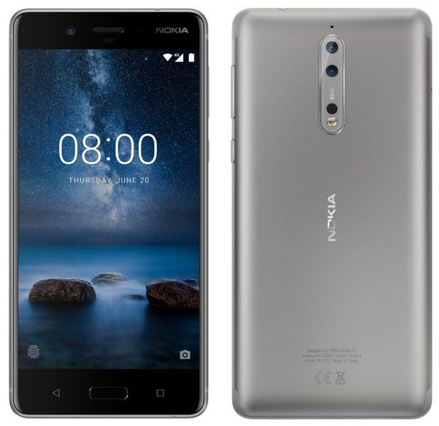 Новый многообещающий рендер Nokia 8 в сером цвете Другие устройства  - nokia_8_gray_render
