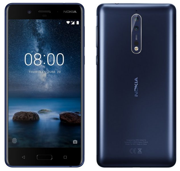 Новый многообещающий рендер Nokia 8 в сером цвете Другие устройства  - nokia_8_render_resize