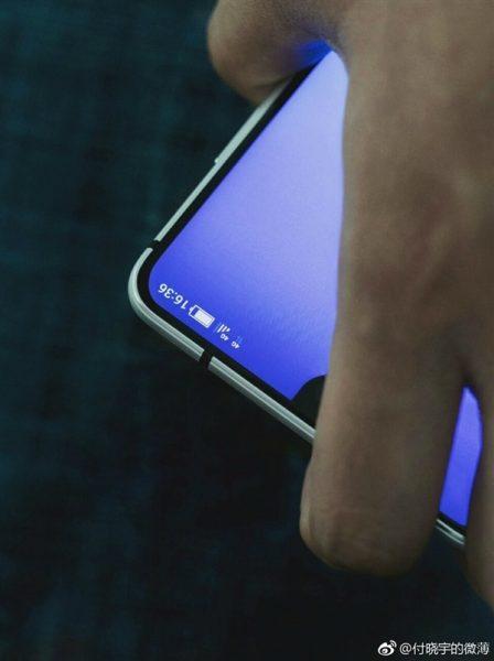 Реальное фото полностью безрамочного Sharp Другие устройства  - sharp_looks_like_essential