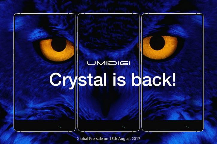 Безрамочный, кристалический смартфон UMIDIGI Crystal и его дата релиза Другие устройства  - umidigi_crystal_date_01