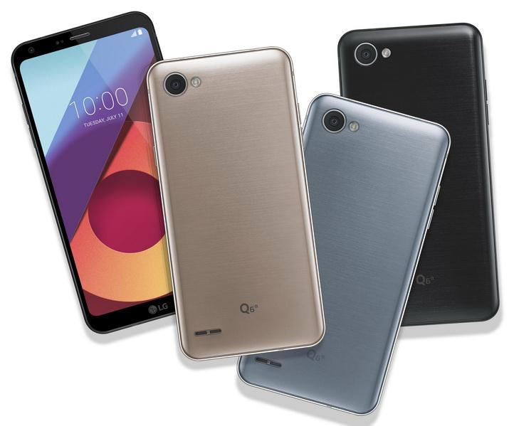 Анонс LG Q6, Q6+ и Q6а – красивые бюджетные гаджеты на Snapdragon 435 LG  - lg_q6_press_03