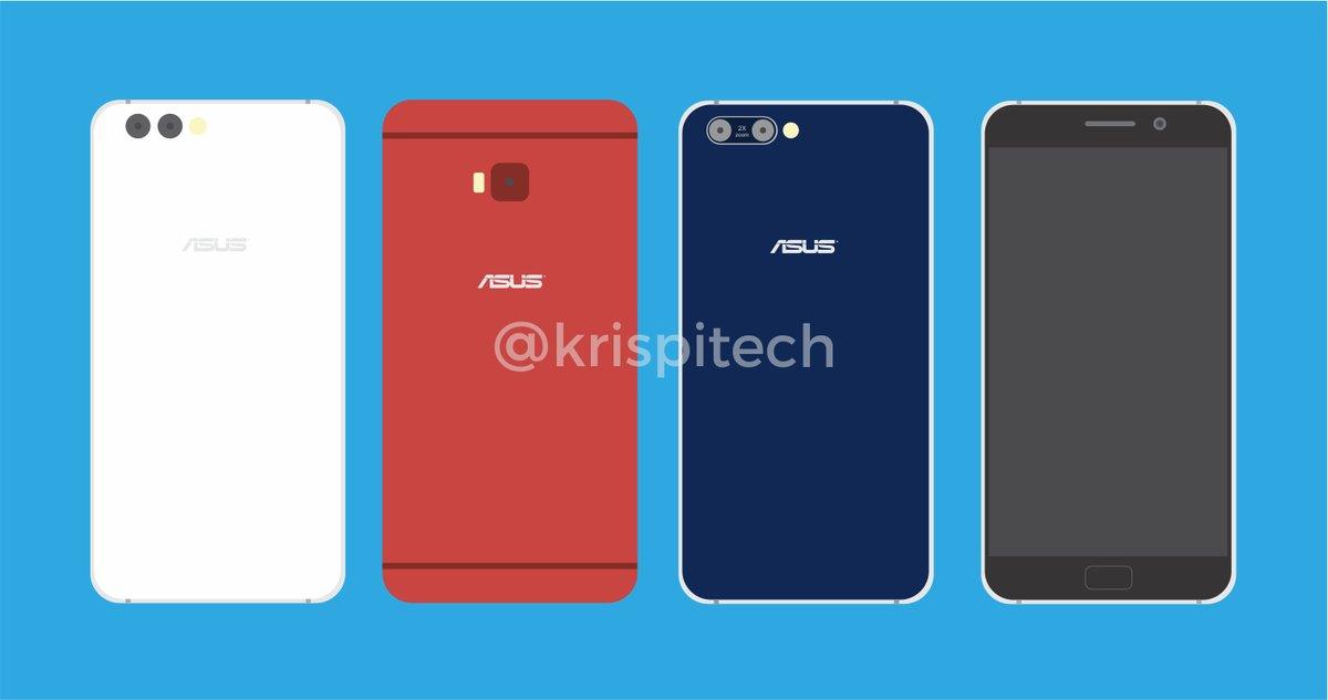 Линейка ASUS Zenfone 4 на новых схематичных, красочных рендерах Другие устройства  - zenfone_4_lineup_1