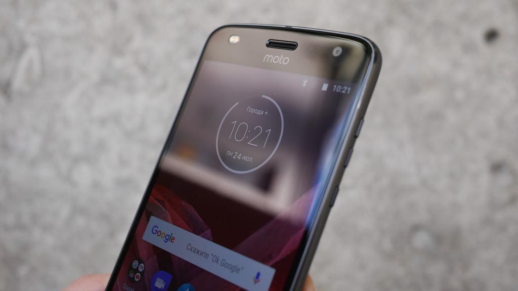 Обзор Lenovo Moto Z2 Play: модульный смартфон среднего класса Другие устройства  - 5-3