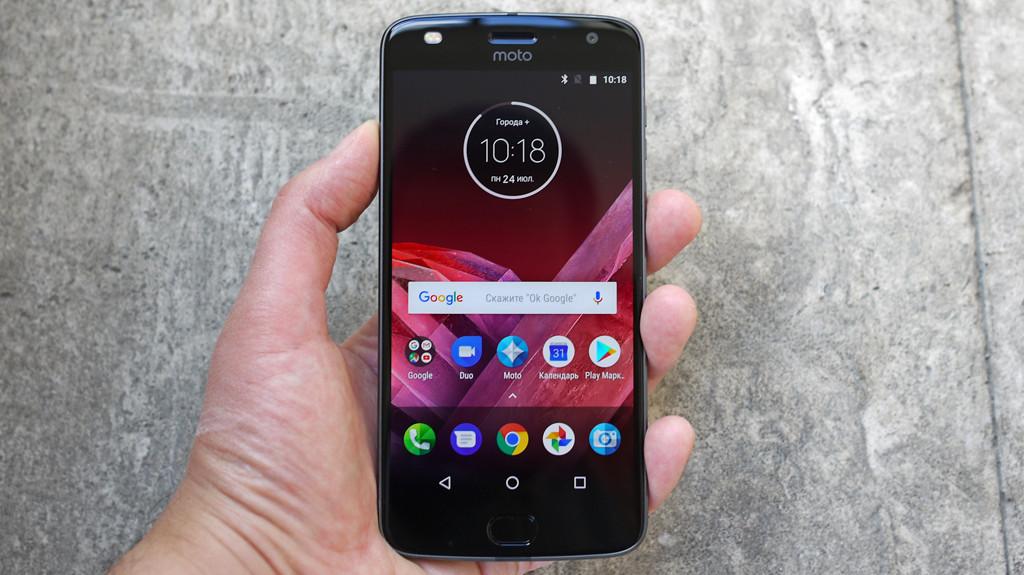 Обзор Lenovo Moto Z2 Play: модульный смартфон среднего класса Другие устройства  - 6-4