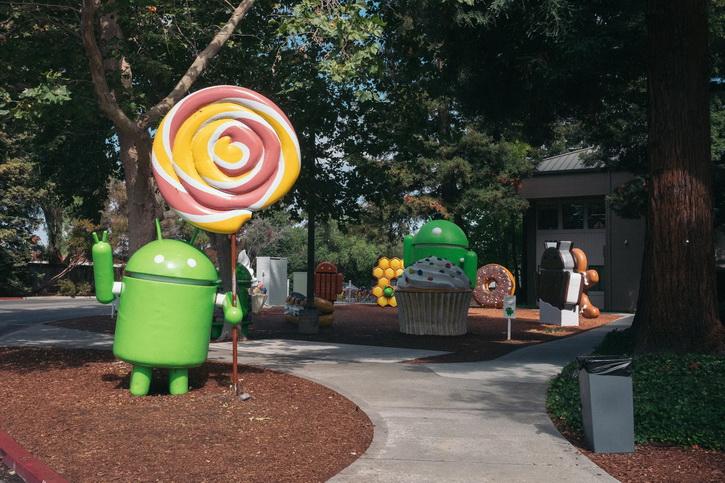 Статуя Android Oreo в штабе Google и пасхалочка  Android 8.0 Другие устройства  - android_oreo_statue_02