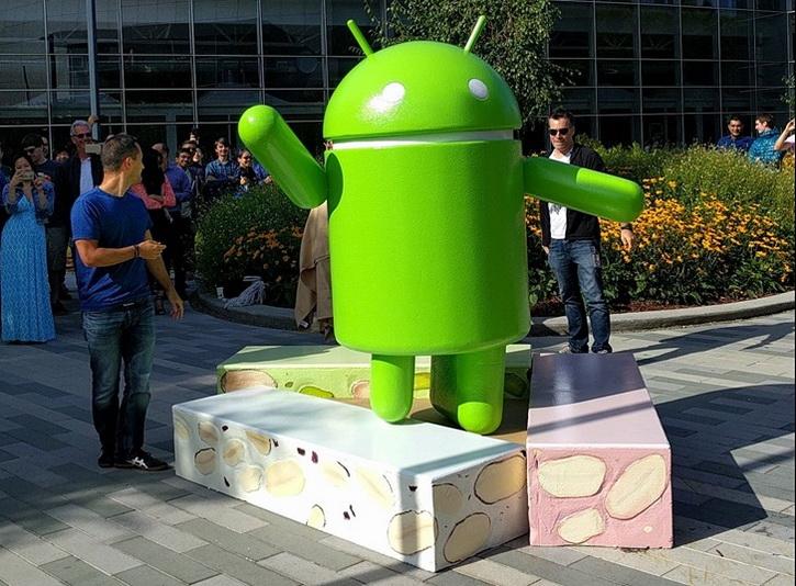 Статуя Android Oreo в штабе Google и пасхалочка  Android 8.0 Другие устройства  - android_oreo_statue_04