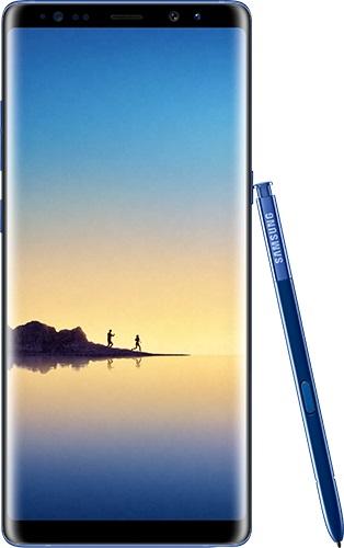 Рендер Samsung Galaxy Note 8 в новом необычном цвете Deep Sea Blue Samsung  - galaxy_note8_deep_sea_blue