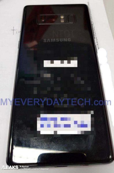 Первые живые снимки долгожданного Samsung Galaxy Note 8 Samsung  - galaxy_note_8_live_2