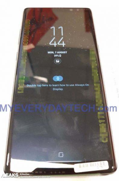 Первые живые снимки долгожданного Samsung Galaxy Note 8 Samsung  - galaxy_note_8_live_3