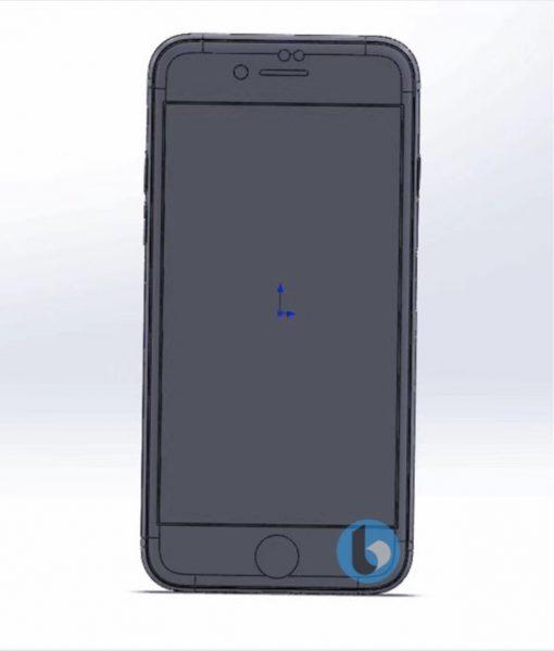 Чертежи финального дизайна смартфонов iPhone 7S и 7S Plus Apple  - iphone_7s_cad_02