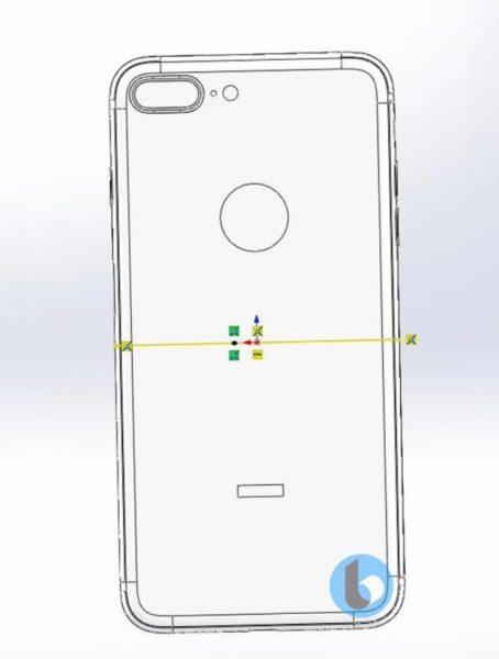 Чертежи финального дизайна смартфонов iPhone 7S и 7S Plus Apple  - iphone_7s_cad_03