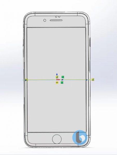 Чертежи финального дизайна смартфонов iPhone 7S и 7S Plus Apple  - iphone_7s_cad_04