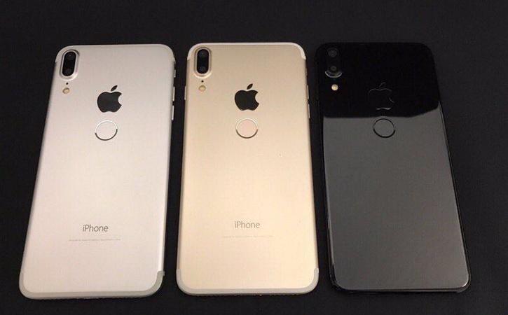 iPhone 8 с Touch ID на задней панели появился на видео Apple  - iphone_8_clone