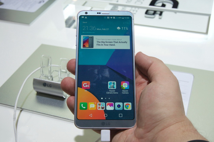 В России подешевел LG G6 на целых 12 000 рублей LG  - lg_g6_mwc_06