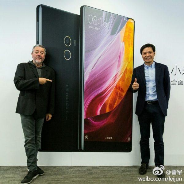 Главный дизайнер Xiaomi Mi Mix 2 представил концепт-видео нового гаджета Xiaomi  - mi_mix_2_design