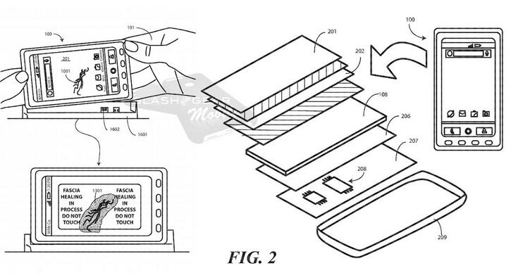 Motorola патентует необычную технологию для дисплея Другие устройства  - motorola_selfrepair_04