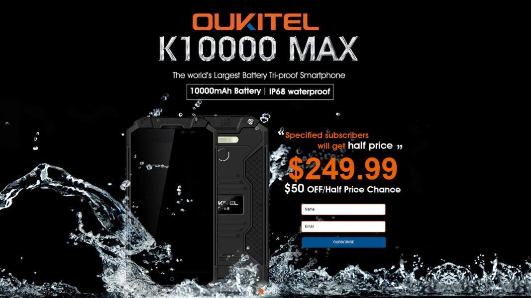 OUKITEL K10000 MAX: бронебойный смартфон для активного отдыха Другие устройства  - oukitel-k10000-max-1