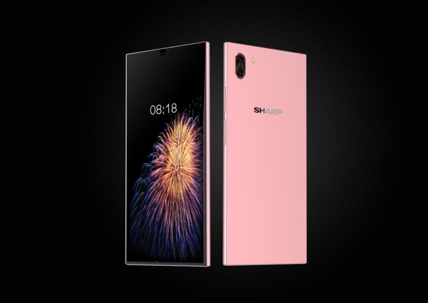 Sharp первой хочет показать смартфон со встроенным в экран дактилоскопическим датчиком Другие устройства  - sharp-aquos-