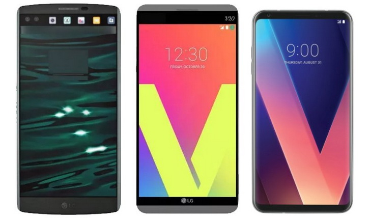 Рендер LG V30 со всех 4х сторон в серебристом цвете. Характеристики LG  - lg_v30_renders_02