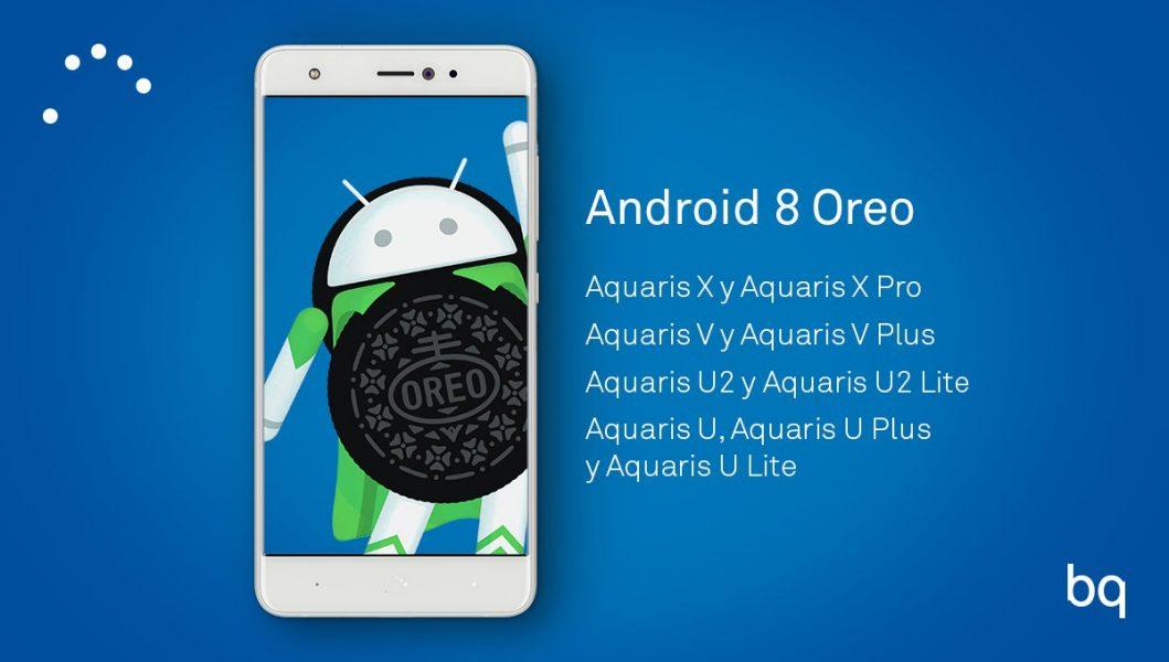 Aquaris V Plus, V, U2, U2 Lite: доступные девайсы из Испании Другие устройства  - bq_oreo