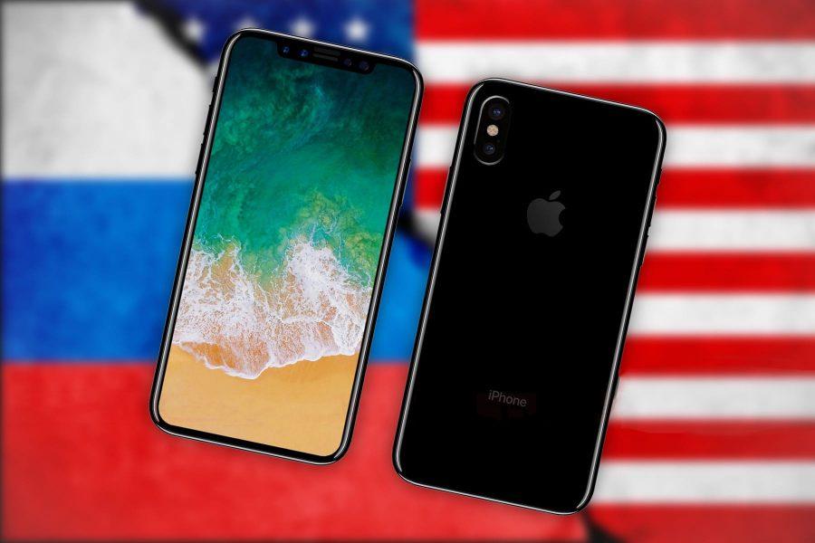 Цена iPhone X в России почти самая высокая во всем мире Apple  - iphone-8-usa-russia-price-1